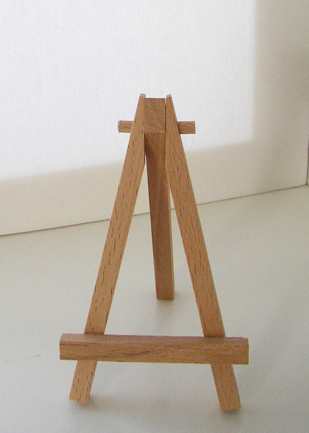 Wooden Display Stand For Mini Artwork Once Upon A Seaside Garden By Juliebull